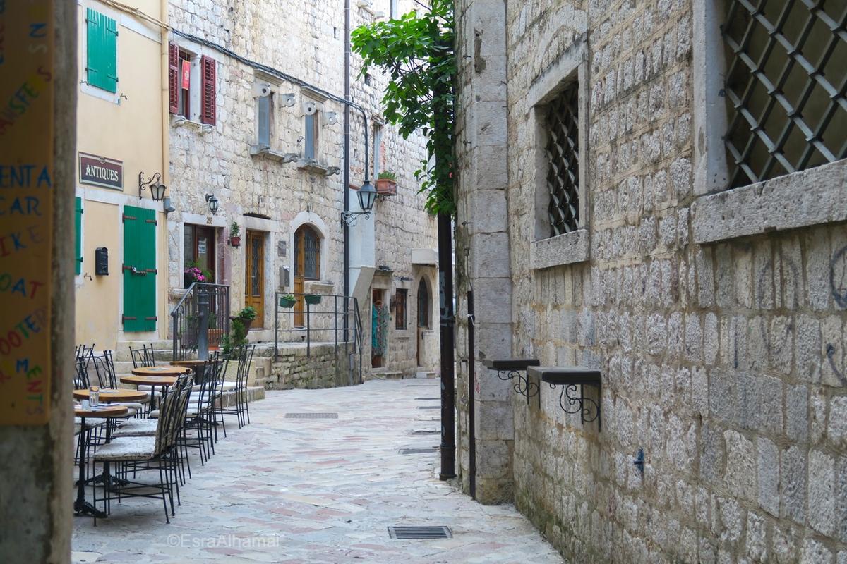 Kotor Streets, Montenegro