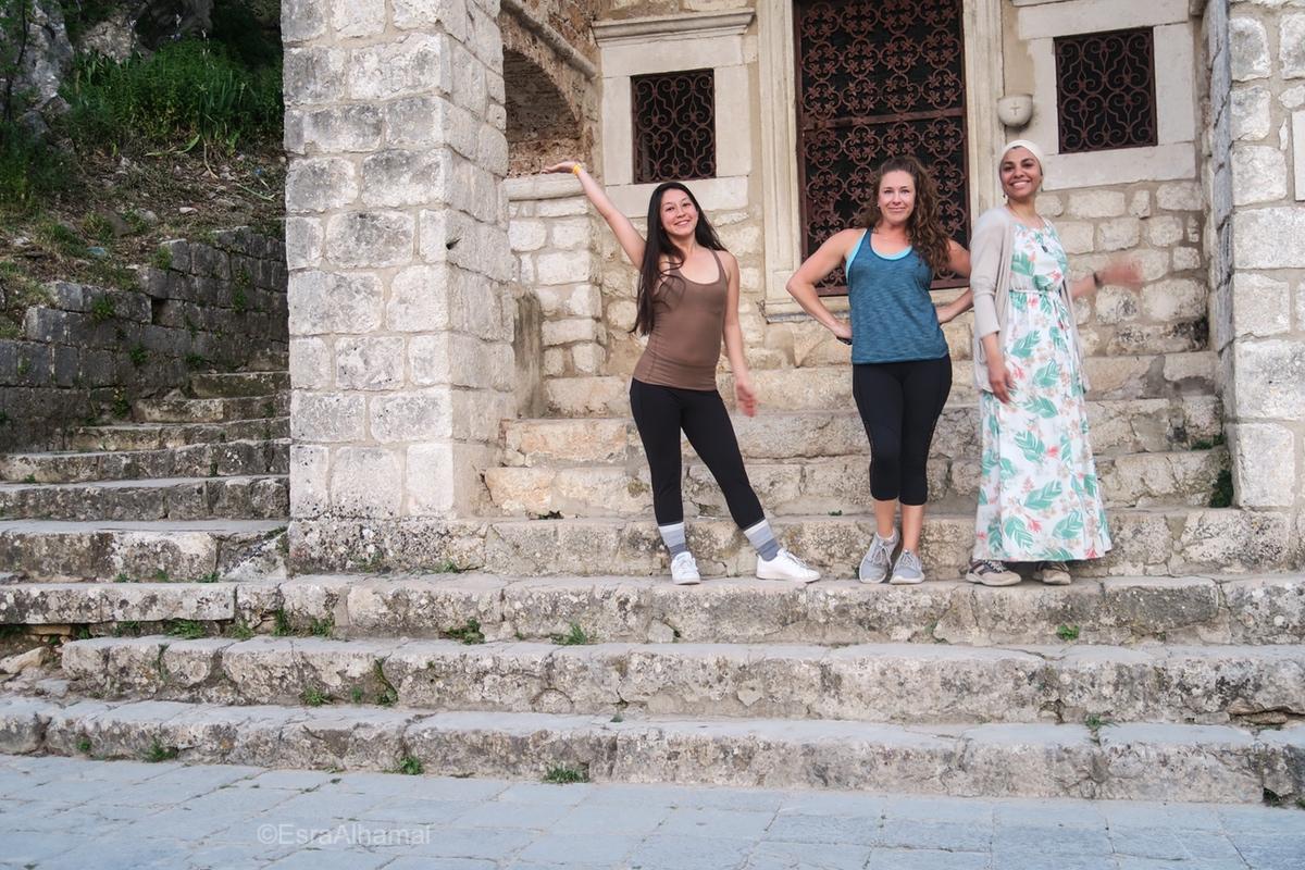Making friends in Kotor