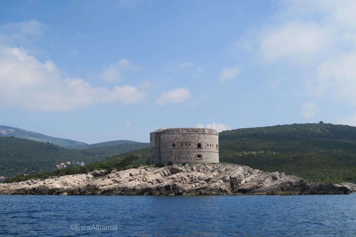 Prison Island, Kotor, Montenegro
