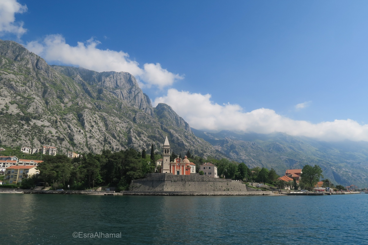 View of Kotor Bay, Montenegro