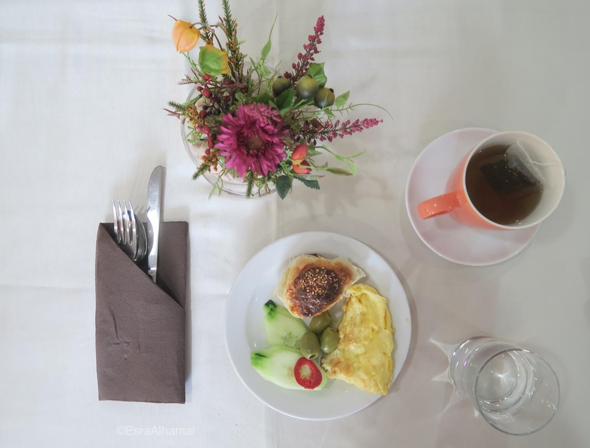 Breakfast at Hotel Terminus