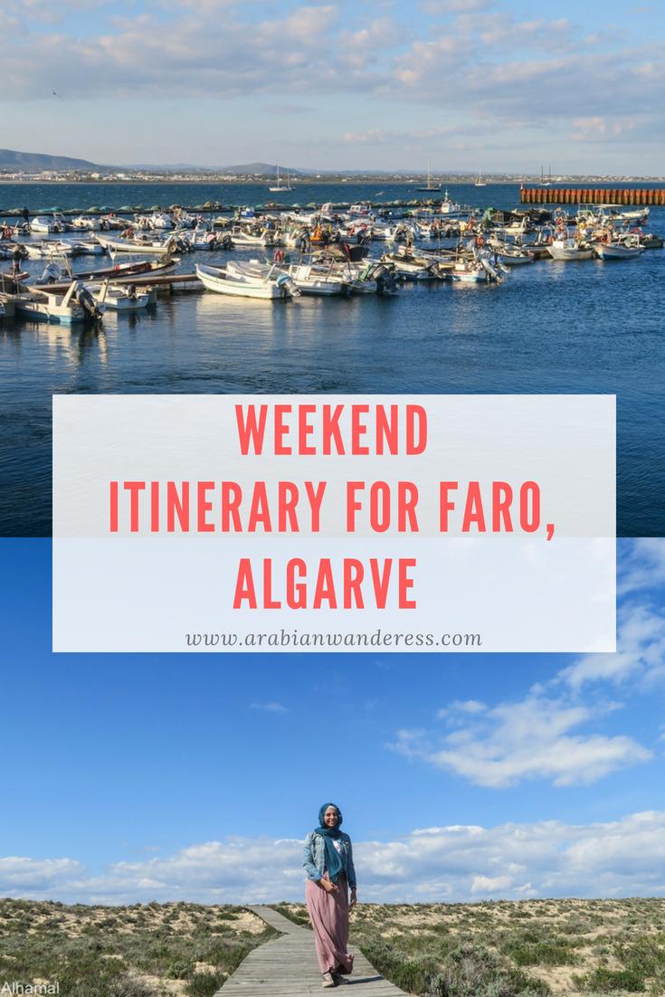 Weekend 2-day itineraryfor Faro, Algarve
