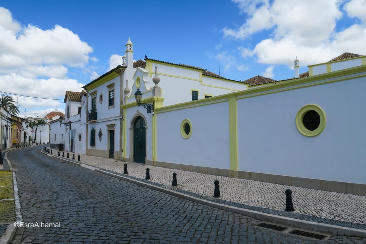 Downtown in Faro, Algarve