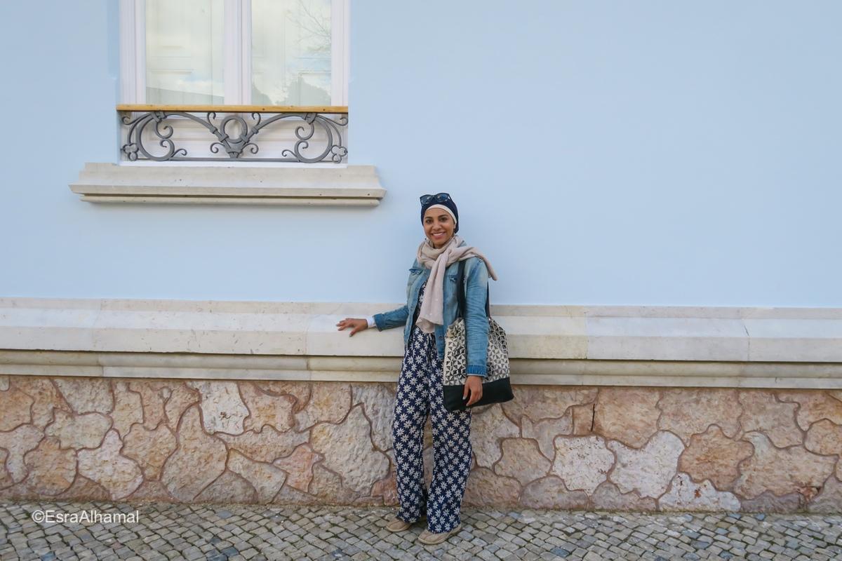 Coloured walls in Faro