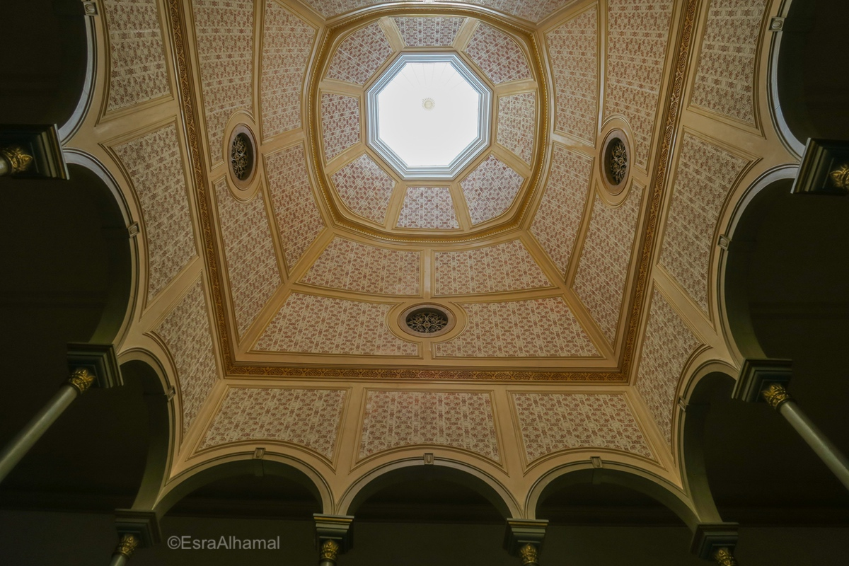 Islamic Architecture, Ceiling, Silves Town Hall, Algarve, Portugal