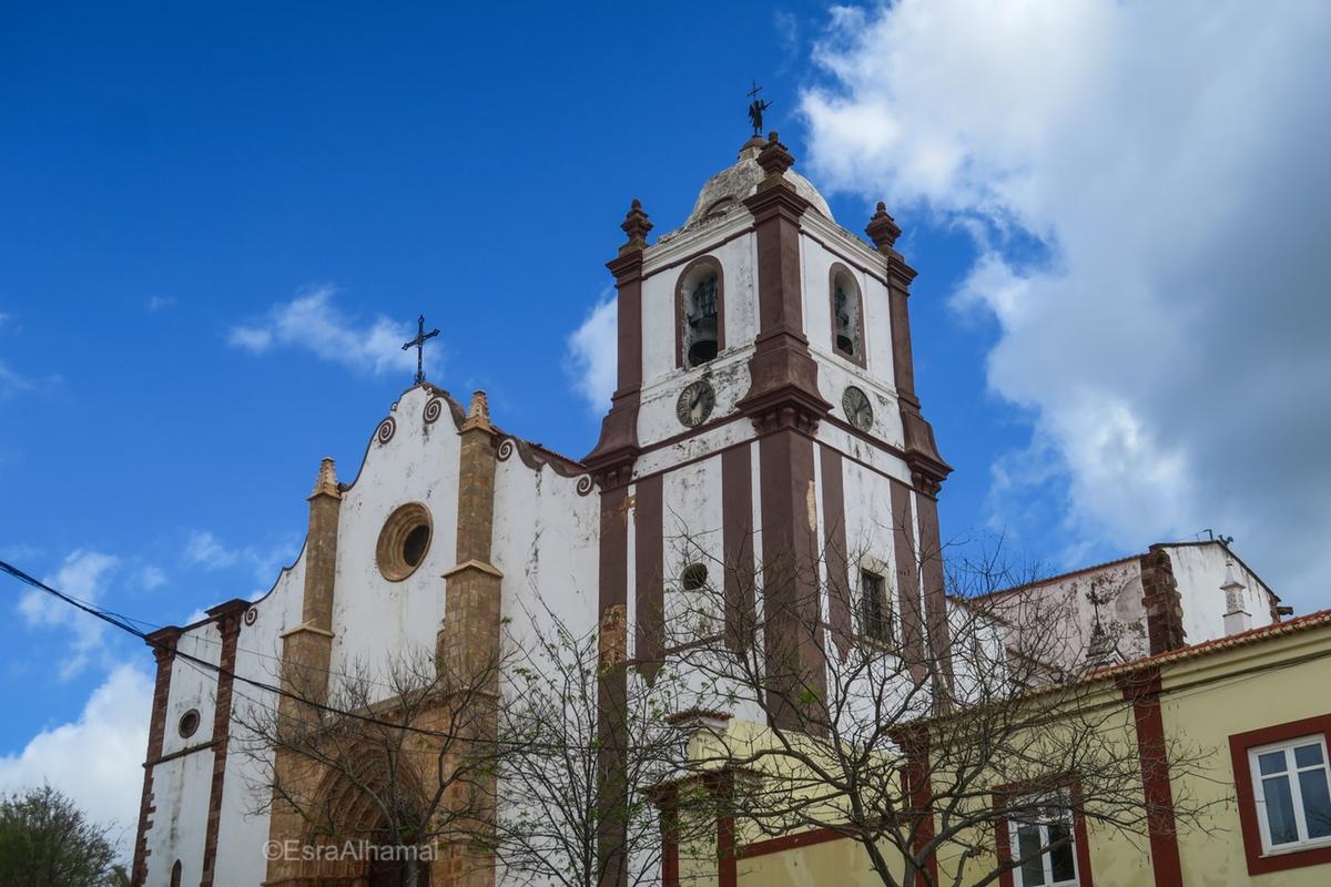 Church in Silves, Algarve, Portugal