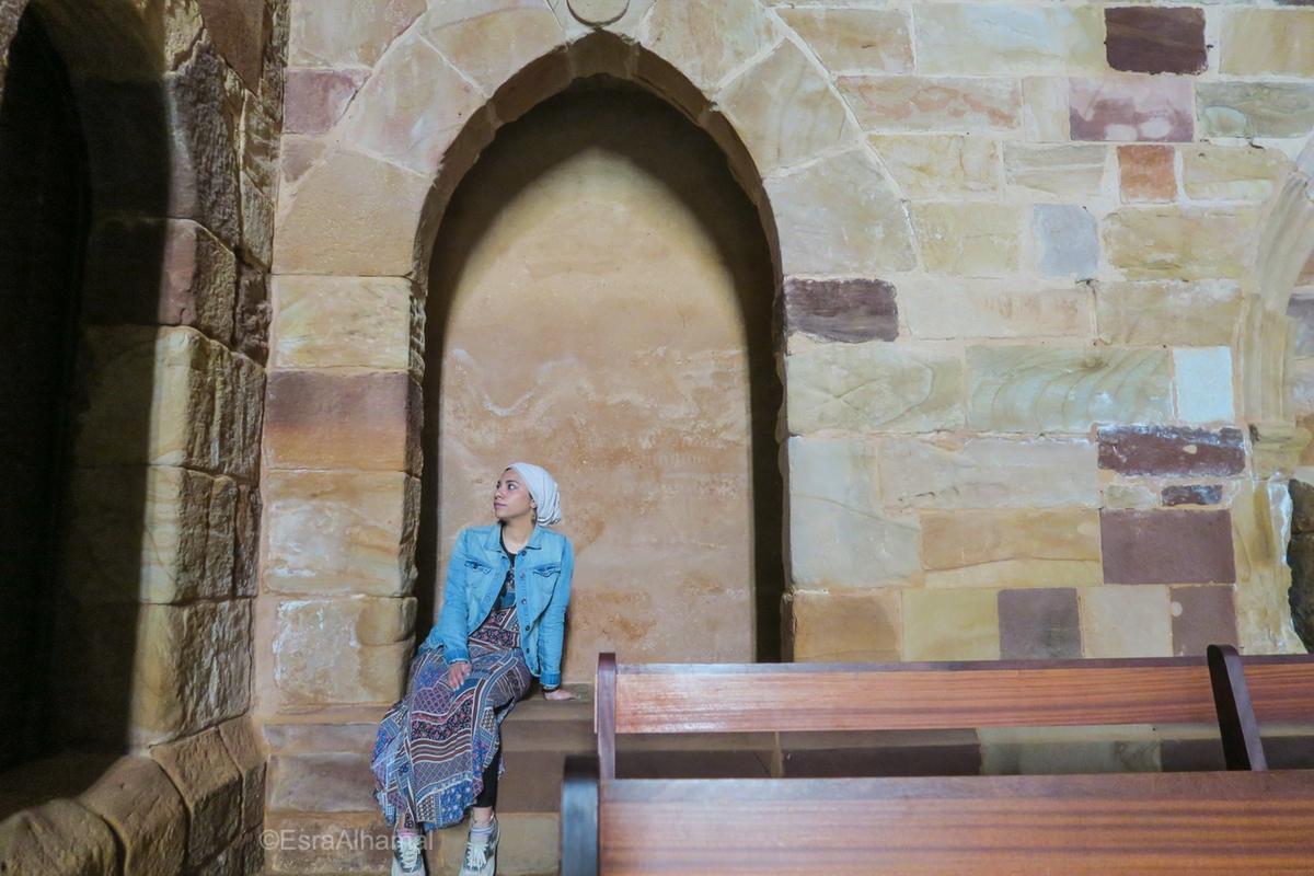 Inside the church in Silves, Algarve, Portugal