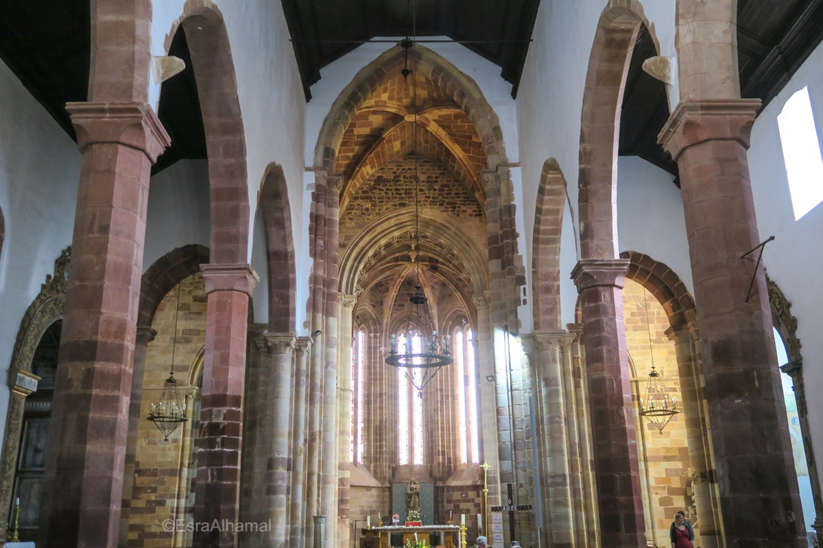 Church Arches in Silves, Algarve, Portugal