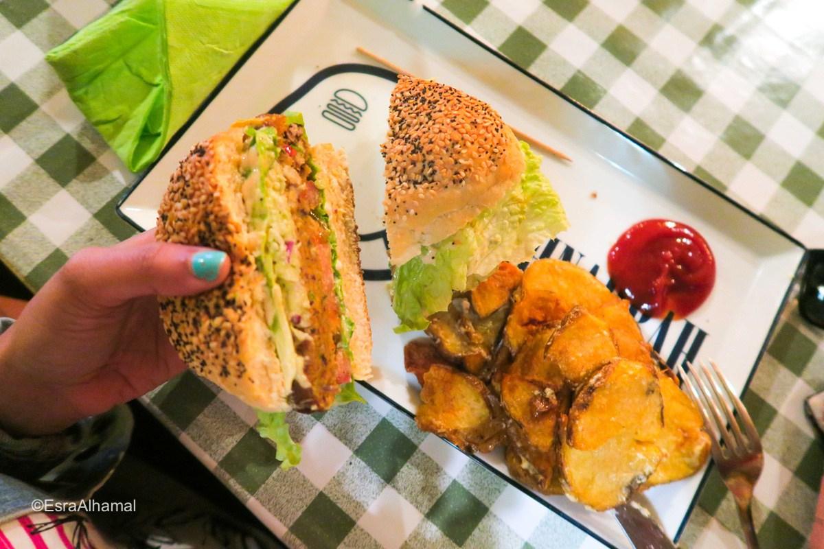 Veggie Burger Lagos