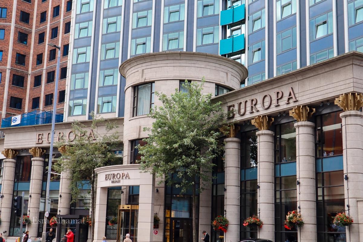 Europa Hotel in Belfast
