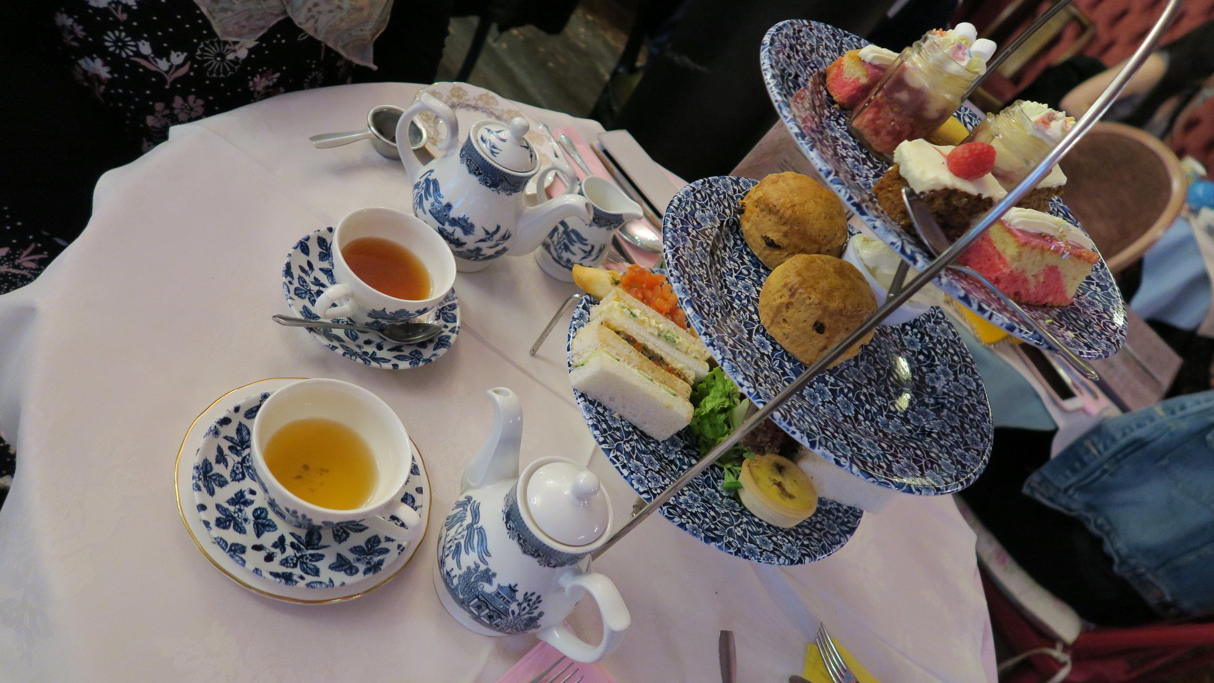Afternoon Tea at Richmonds Tea Rooms