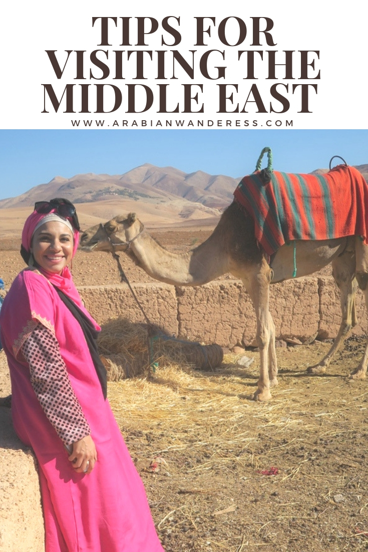 Tips for visiting the Middle East