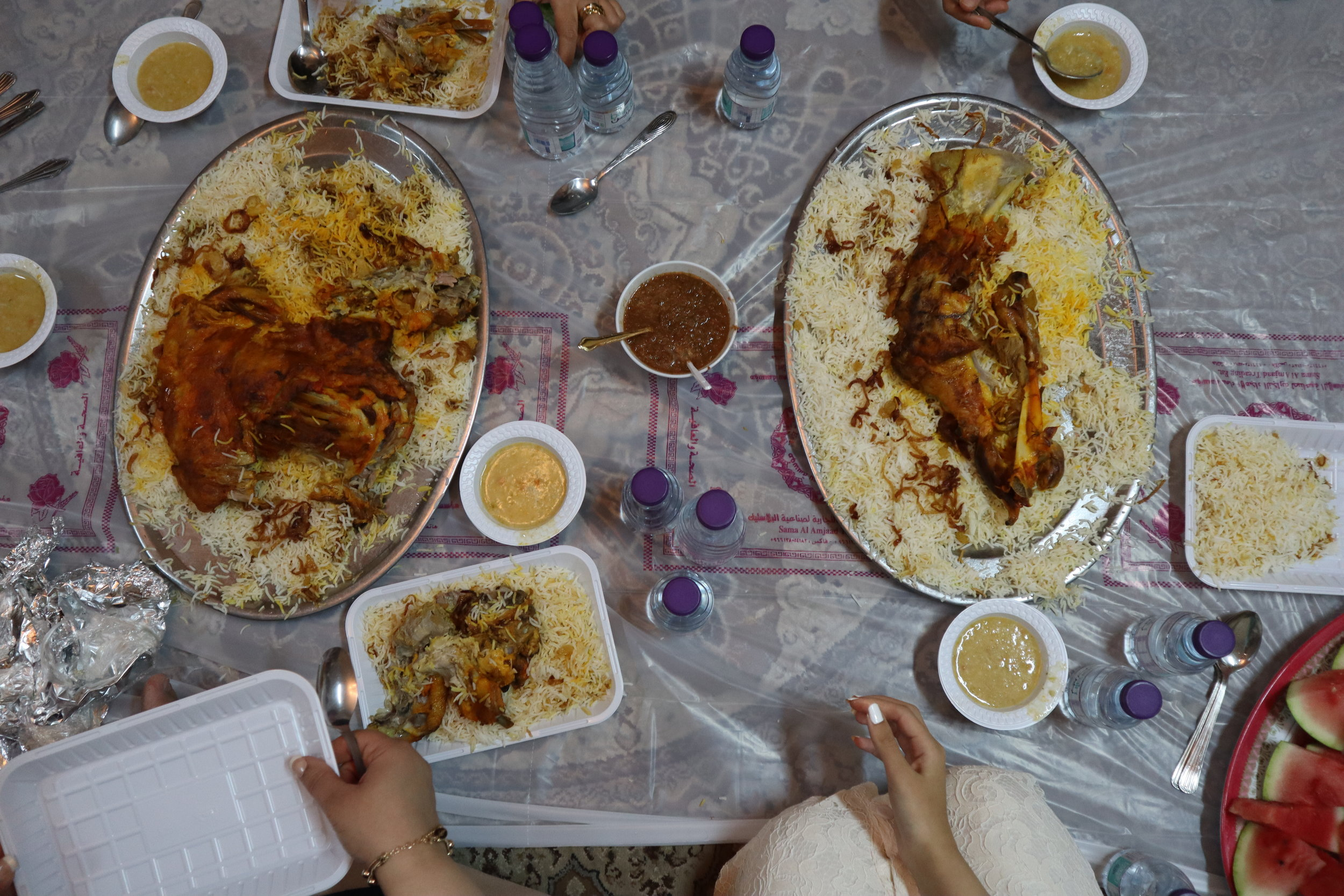 Eid Lunch with the Family!!