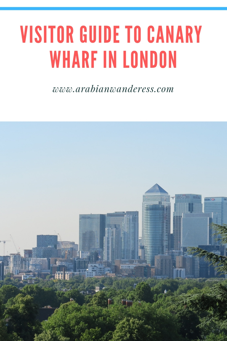 Visitor Guide to Canary wharf in London