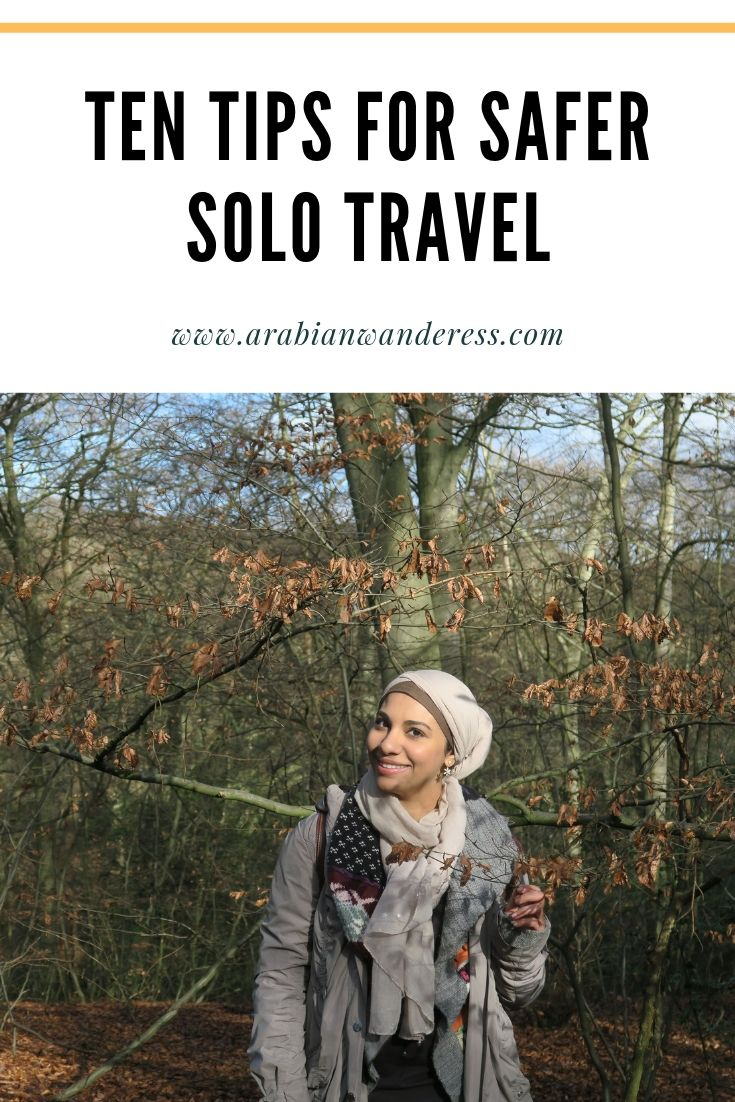 Pin me for later: Ten Tips for Safer Solo Travel
