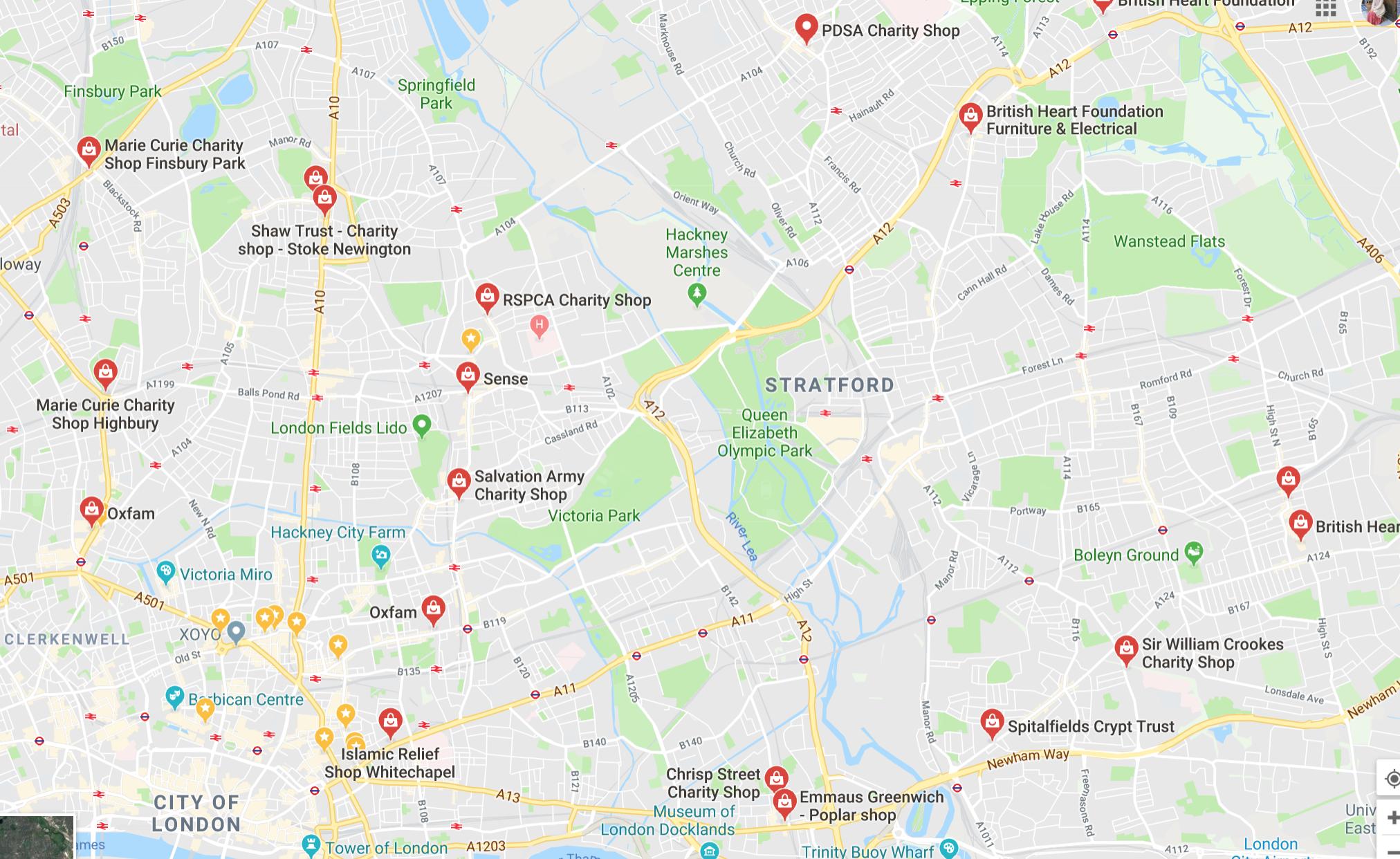 Best Charity Shops in London