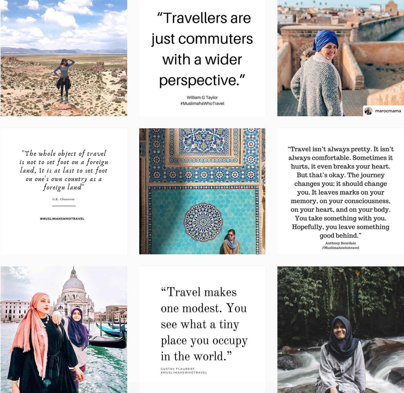 10 Muslim Female Travellers to Follow (Bloggers & Vloggers)