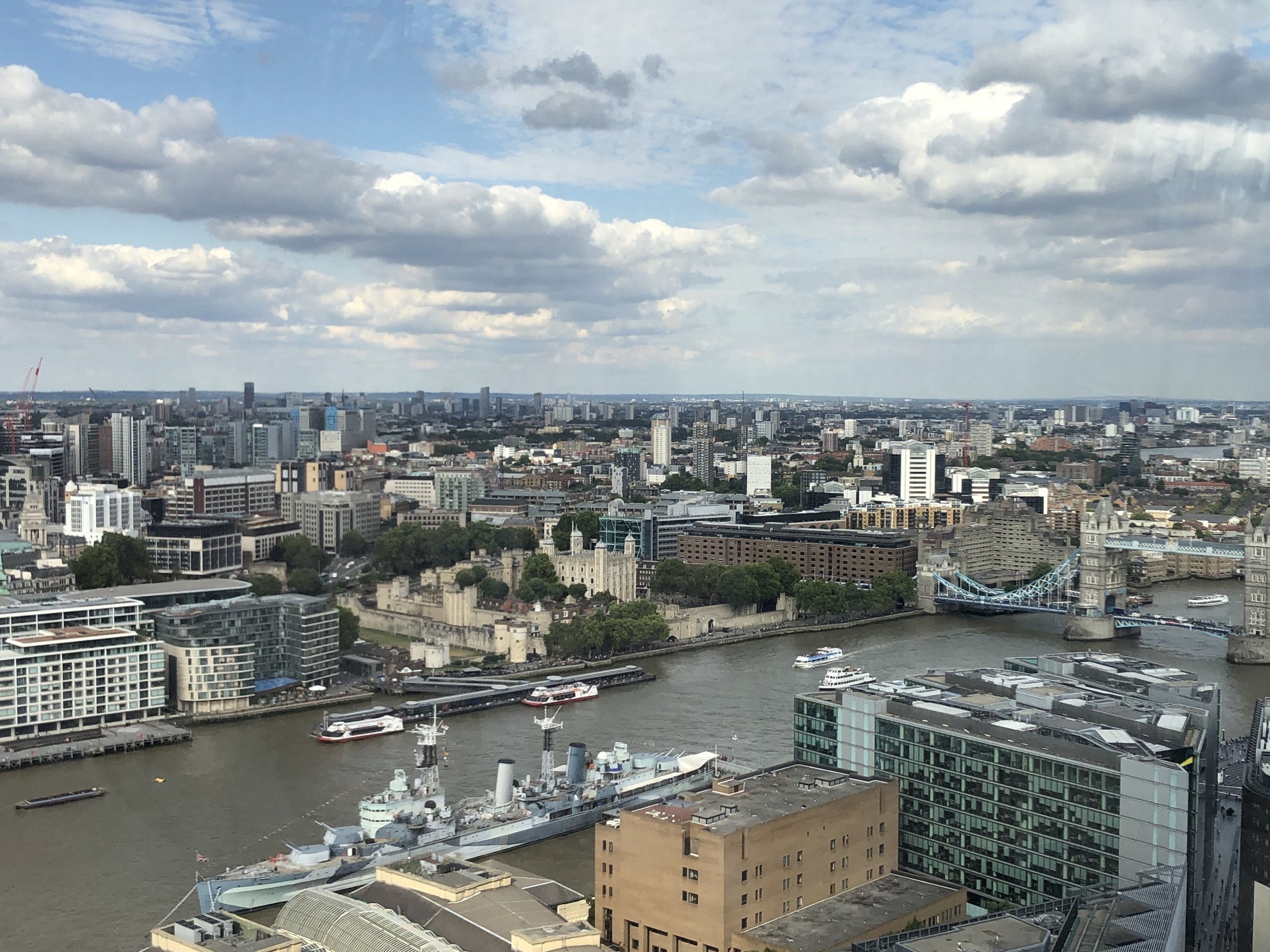 London from 31st Floor