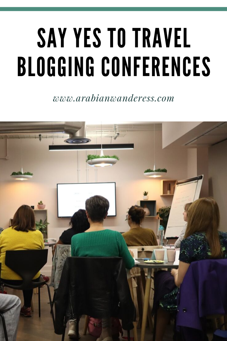 Say Yes to Travel Blogging Conferences