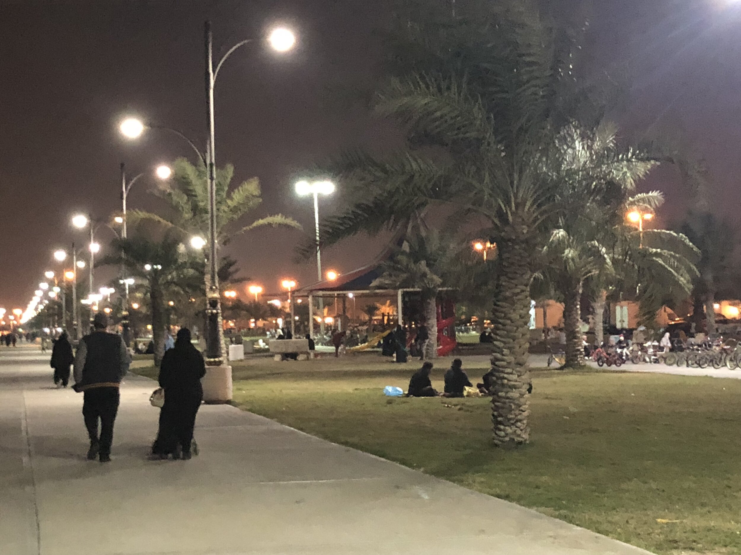 Beach front in East Saudi