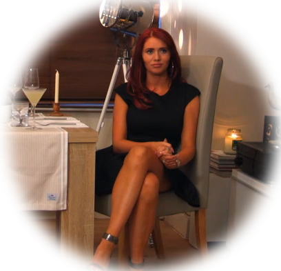 Amy Childs Celebrity Dinner Date