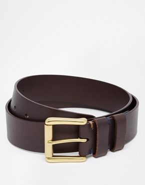 Worn Double Keeper Belt