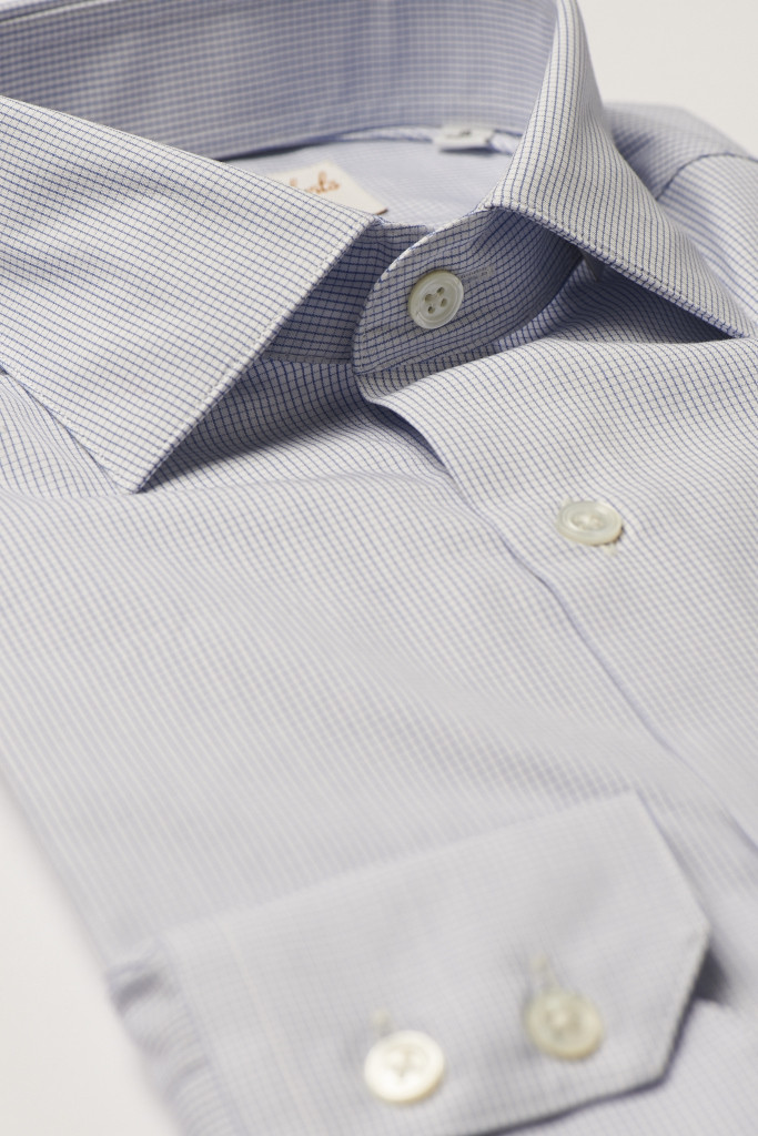 Blue Check Formal Shirt