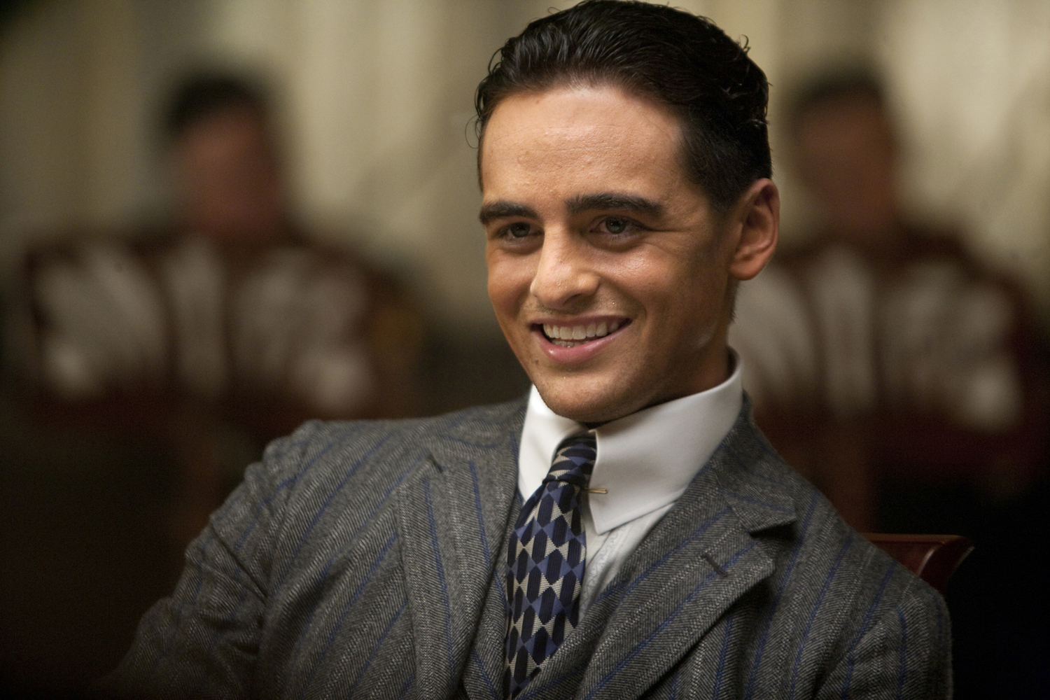 """Boardwalk Empire -Charles """"Lucky"""" Luciano  (played by Vincent Piazza)"""