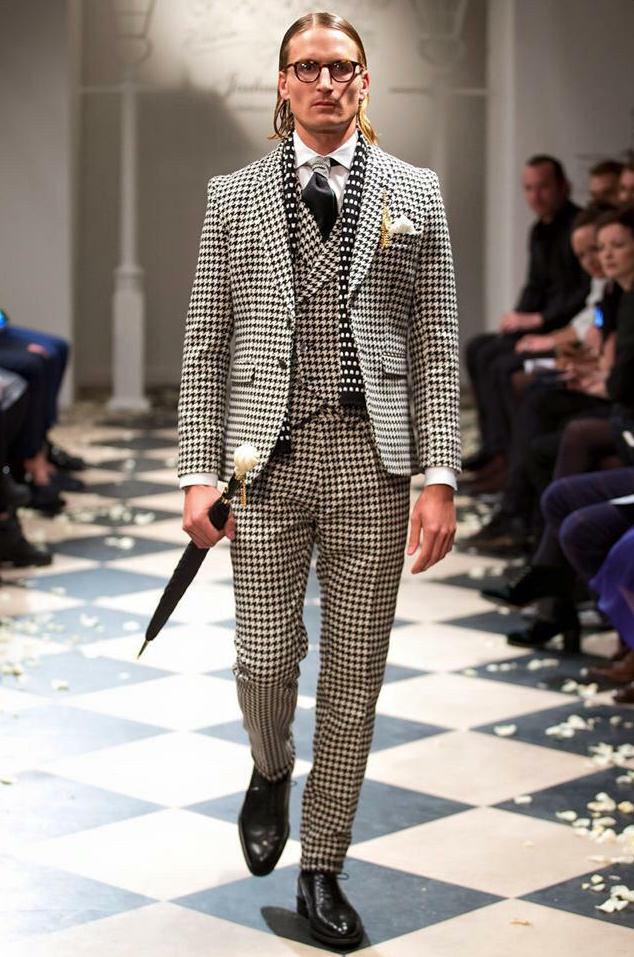 Joshua Kane modelled by Oliver Proudlock