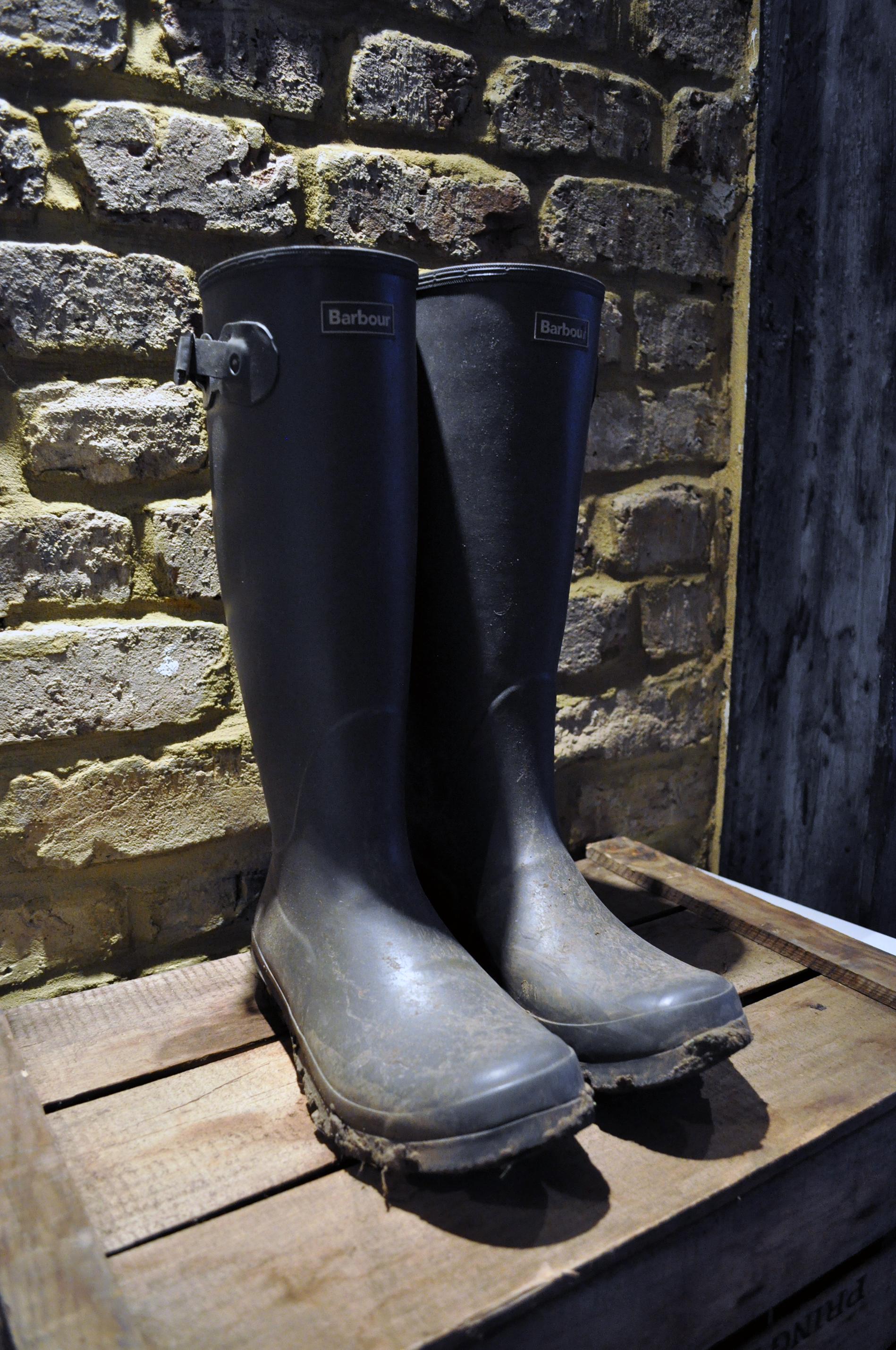 Men's Classic Barbour Wellington Boots