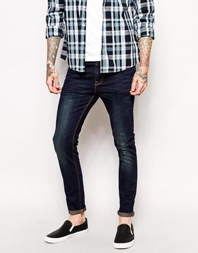 ASOS Skinny Jeans In Dark Wash