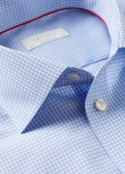 Eton Shirts Gingham Check