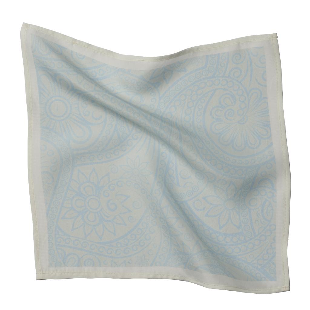 Aqua Blue Pocket Square