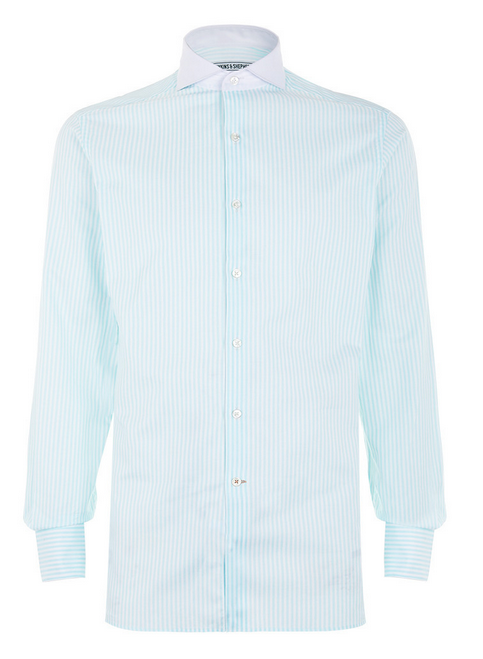 Hawkins & Shepherd Mint Green Shirt