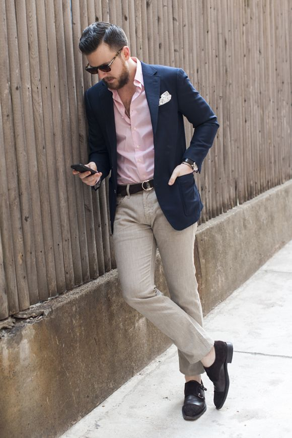HOW TO DRESS FOR THE RACES — MEN'S