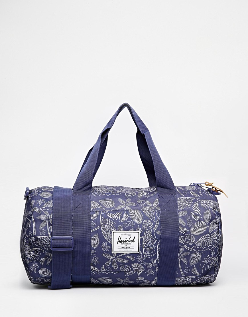 ASOS Blue Print Beach Bag