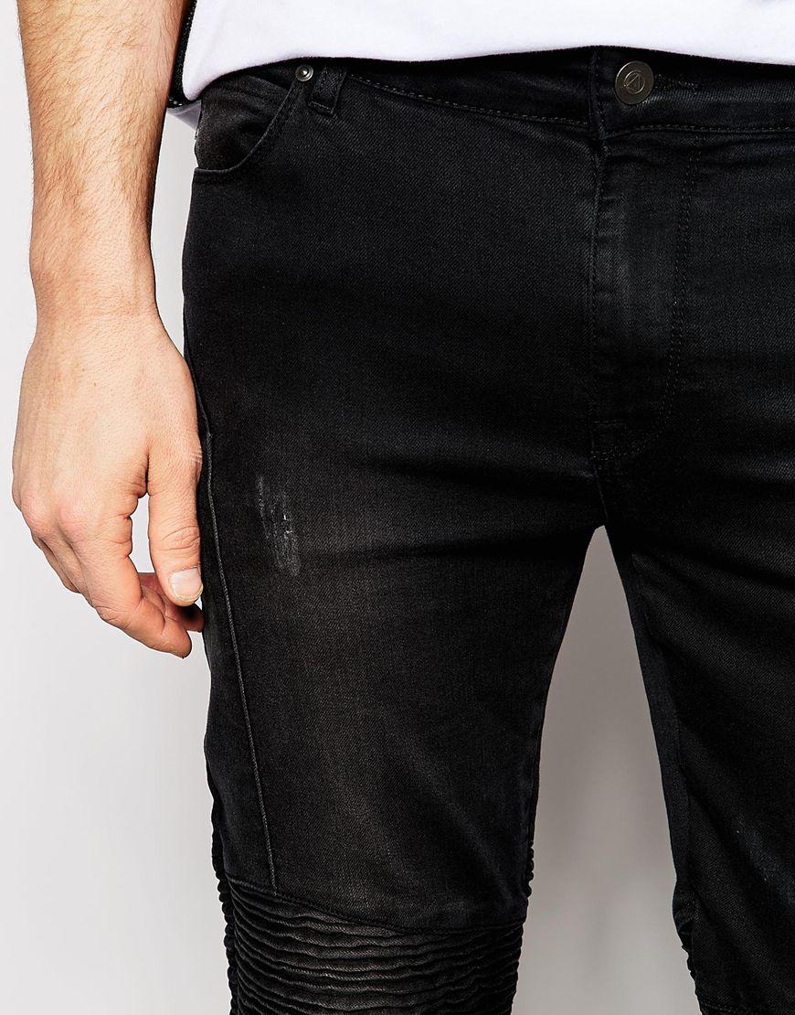 ASOS Biker Jeans