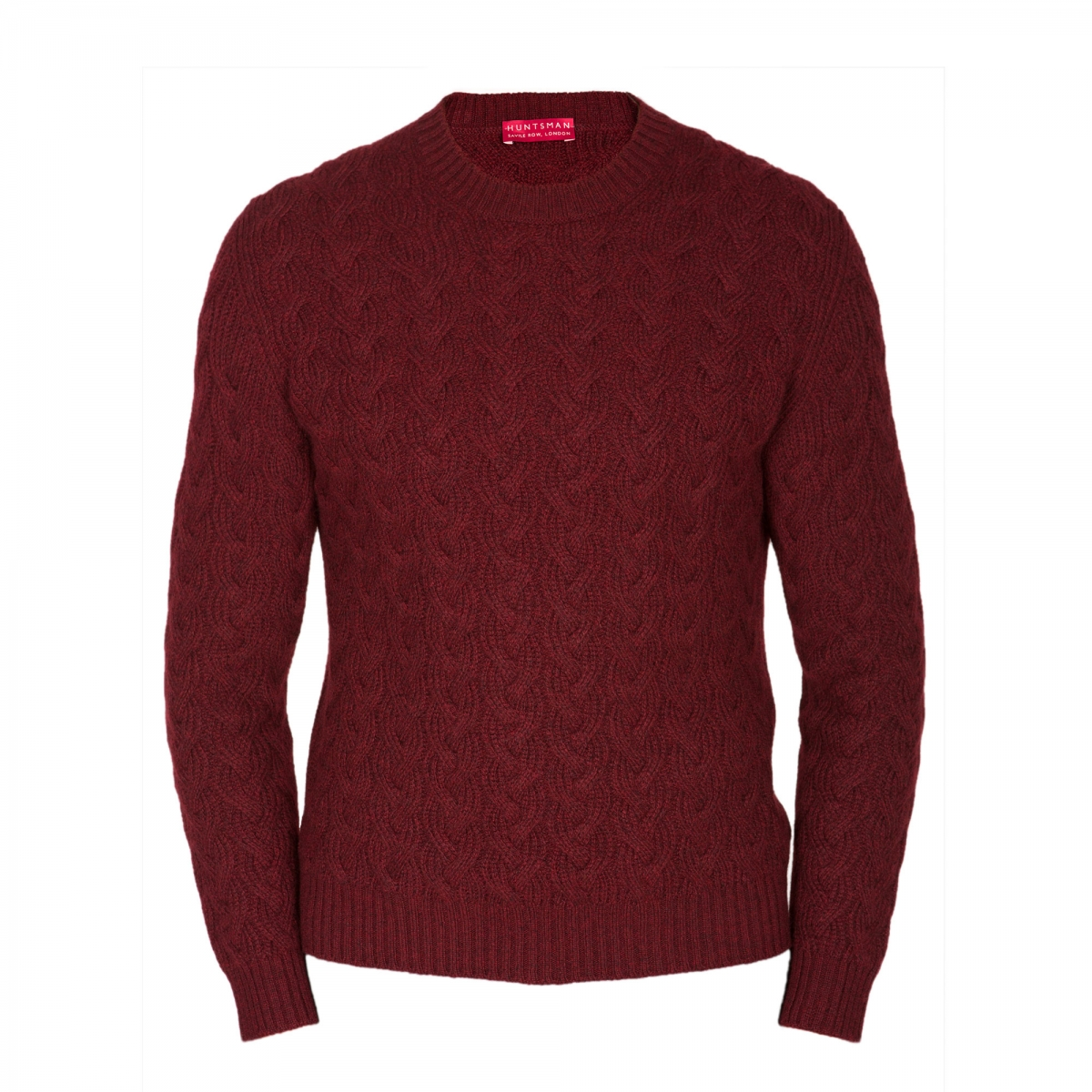 Huntsman Burgundy Knitwear