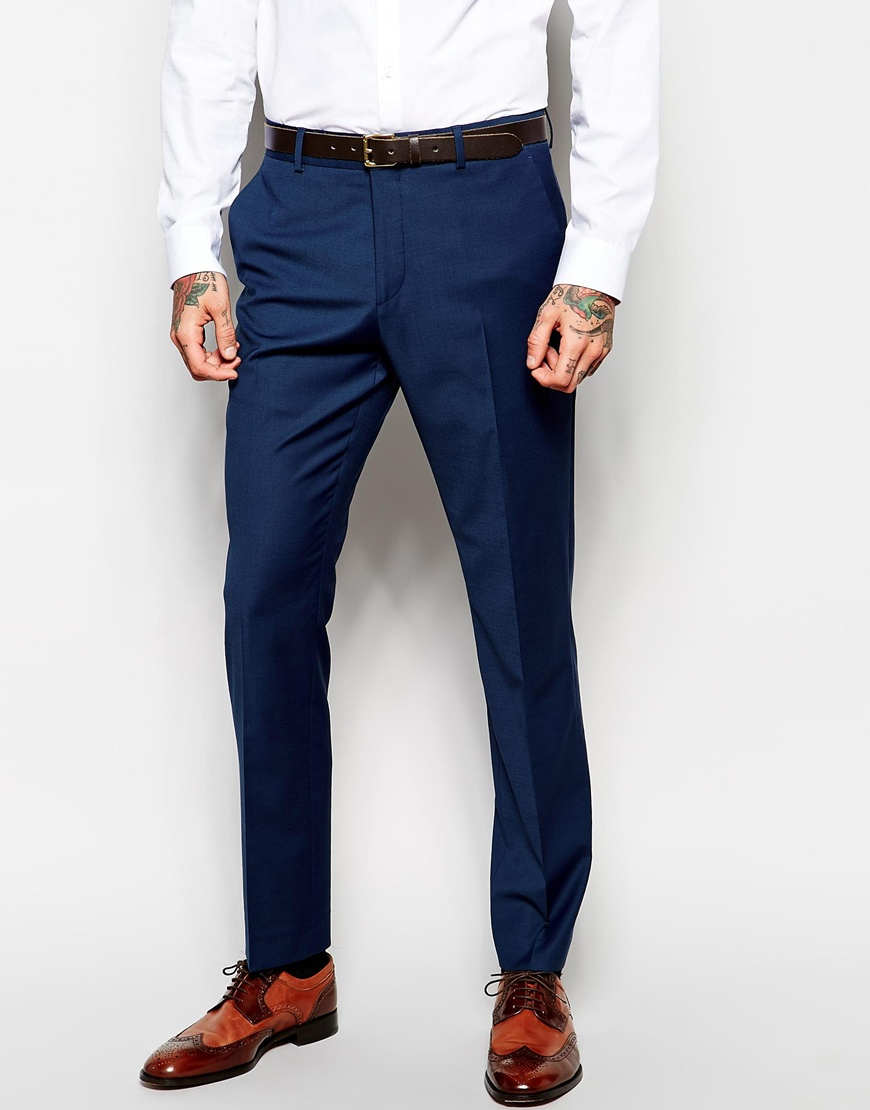 ASOS Navy Trousers