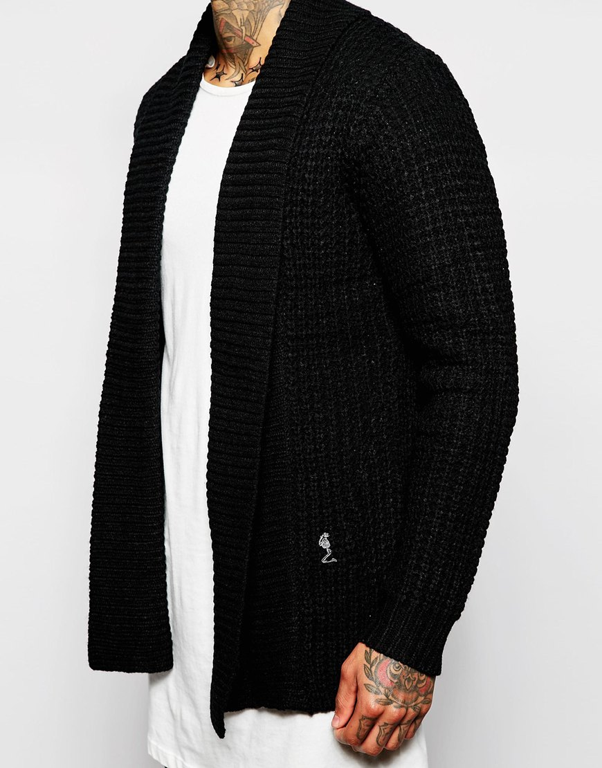 ASOS Religion Black Cardigan