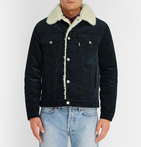 Mr Porter Shearling Jacket