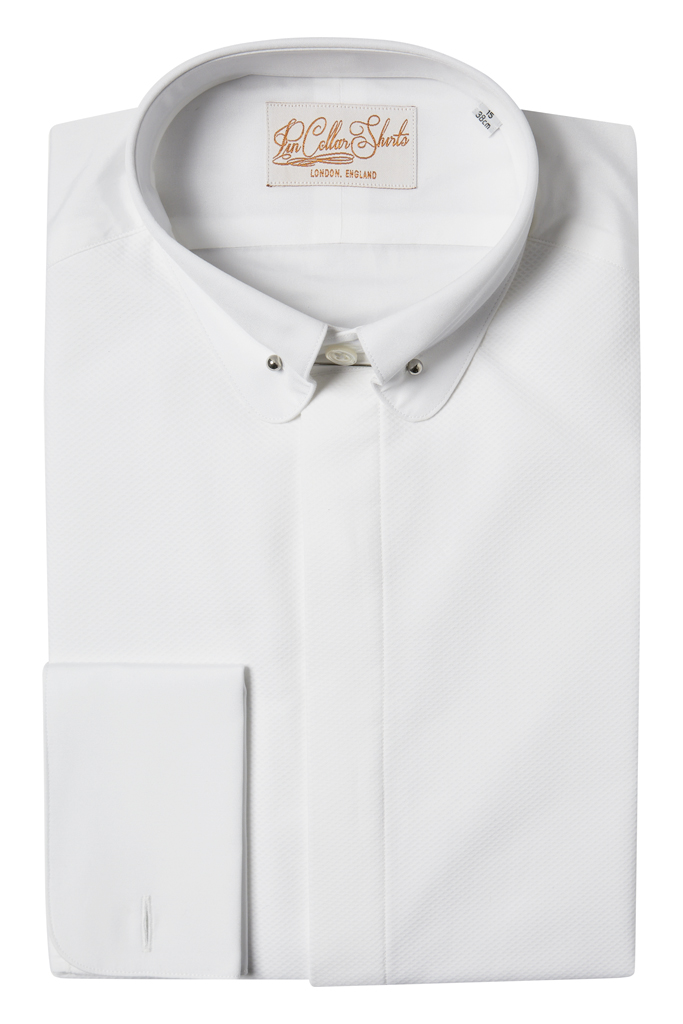 Hawkins & Shepherd Dinner Tux Pin Collar Shirt