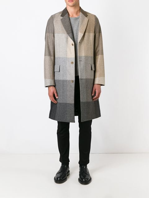 Paul Smith Tonal Check Coat