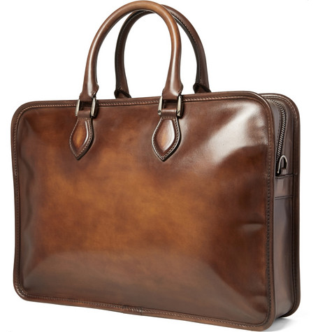 Mr Porter Leather Bag