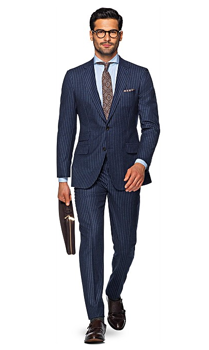 Suit Supply Pinstripe Suit