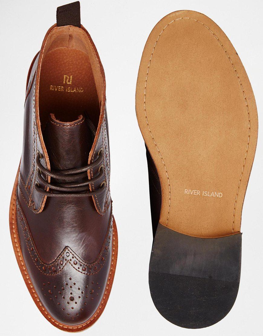 Brogue Desert Boots