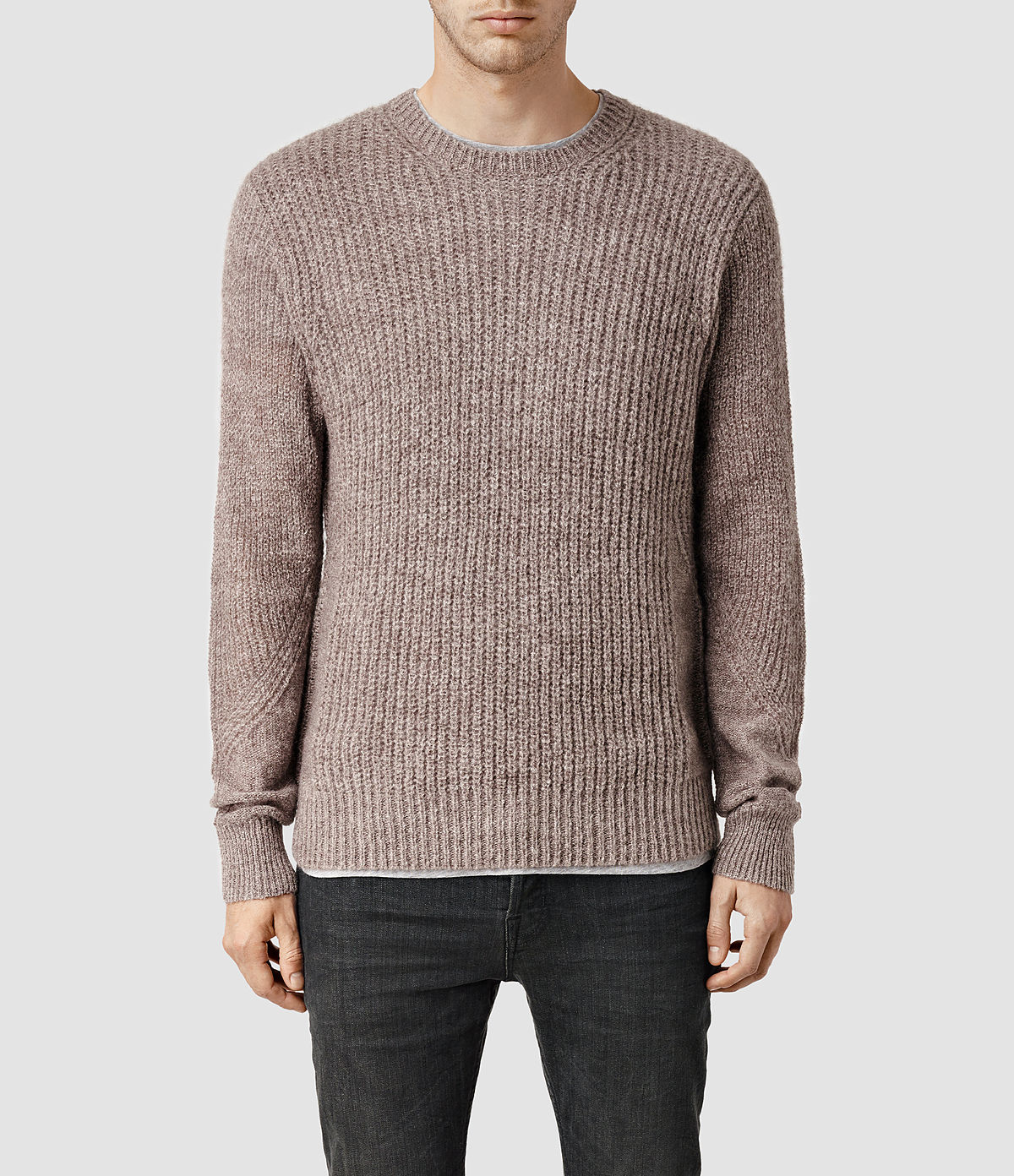 Light Tan Knitted Jumper