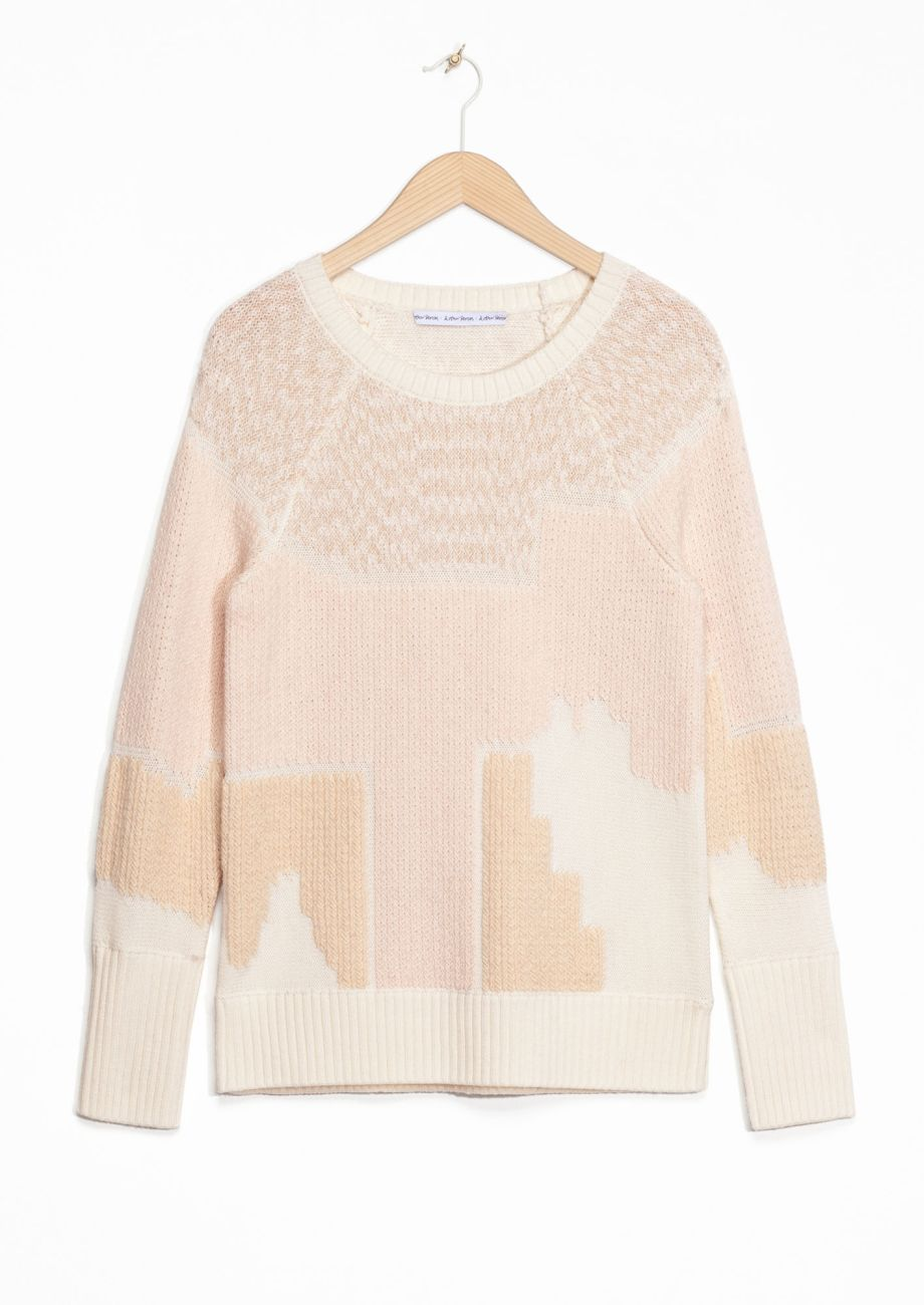 Stories Jacquard Sweater