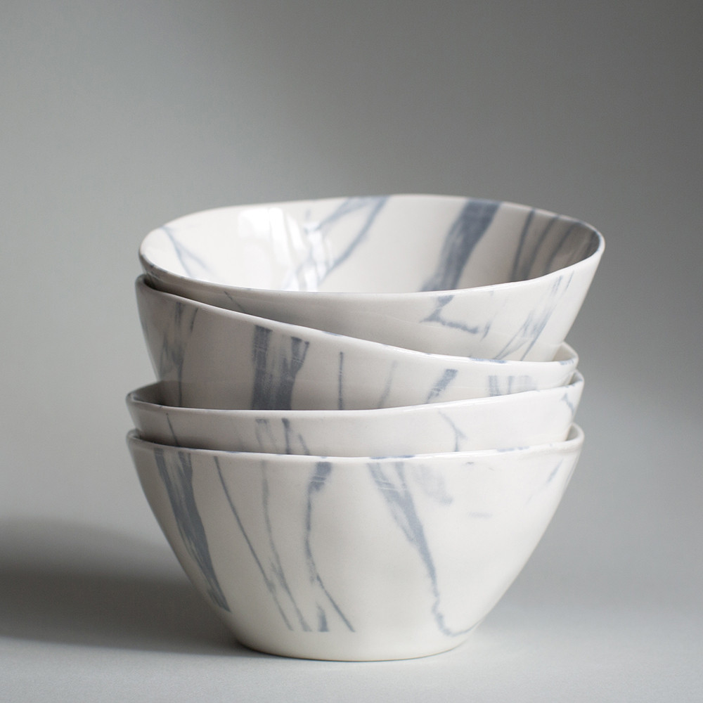 Marble Effect Bowls