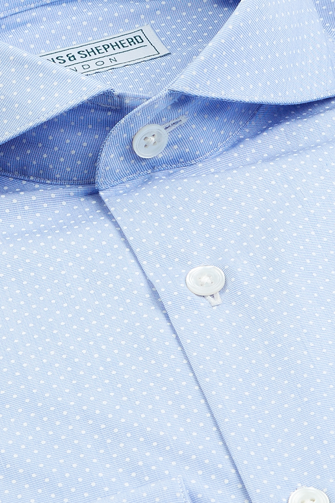 Polka Dot Formal Shirt